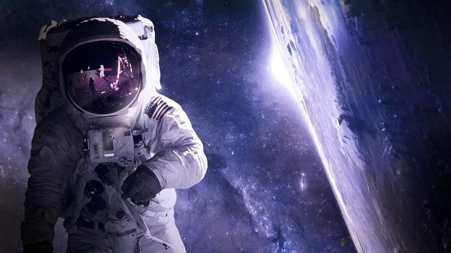 Astronauta no espaço - Yuri_B/ Pixabay
