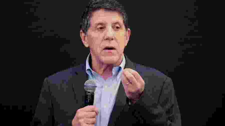 14.abr.2020 - O infectologista David Uip em coletiva da Secretaria de Estado da Saúde de São Paulo sobre o coronavírus - Divulgação/Governo do Estado de São Paulo