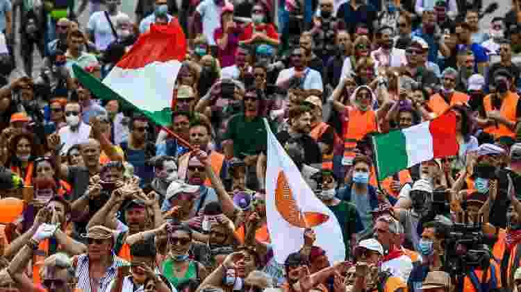 direita_italia - Vincenzo Pinto/AFP - Vincenzo Pinto/AFP