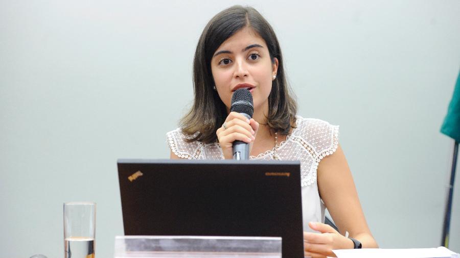 Tabata Amaral (PDT) defende que a liberdade de expressão não pode ser usada para atacar a democracia - Cleia Viana/Câmara dos Deputados