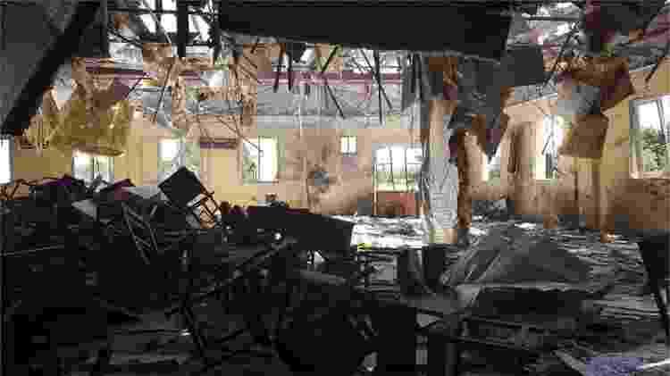 Os ataques não pararam no Afeganistão - BBC - BBC