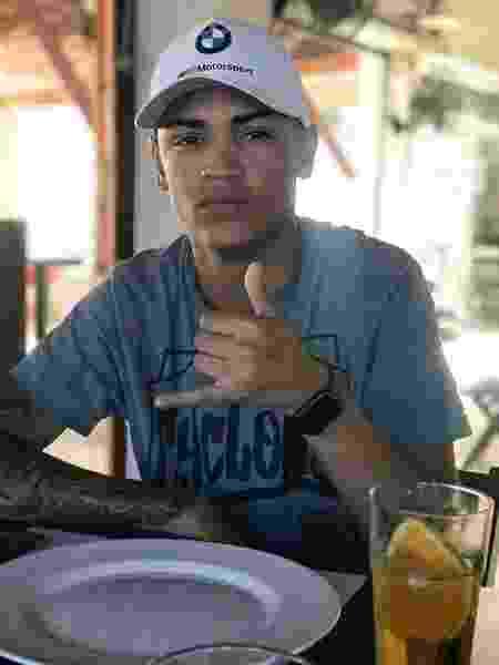 Wenny Sabino Costa Martin, 18, foi baleado e morto em São Mateus, zona leste de São Paulo - Arquivo pessoal