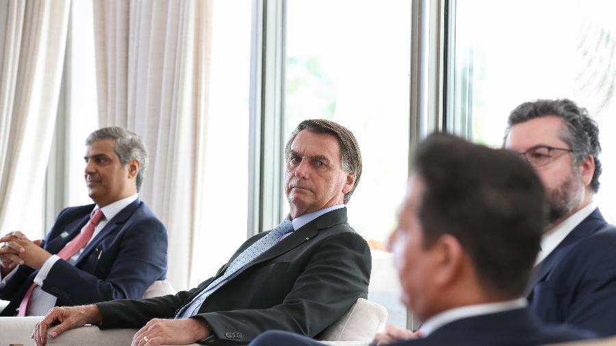 Presidente teve reunião com embaixador do Kuwait - Marcos Corrêa/PR
