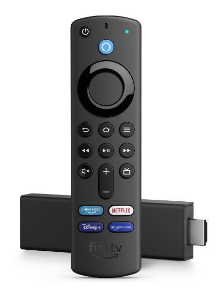 Amazon Fire TV Stick 4K com controle com comandos de voz - Divulgação