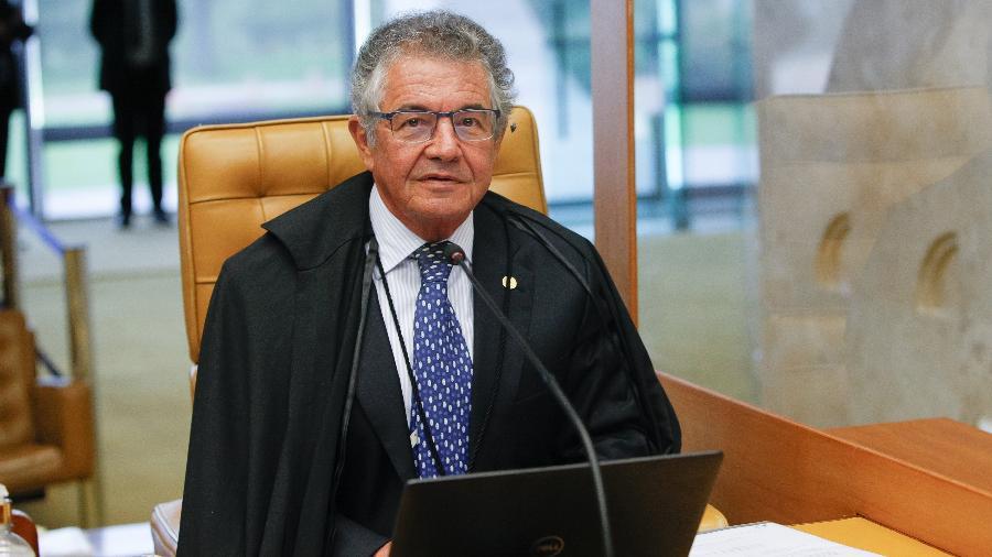 Ministro do STF Marco Aurélio Mello, aconselhou um reexame dos posicionamentos negacionistas pelo presidente Bolsonaro - Felipe Sampaio/STF