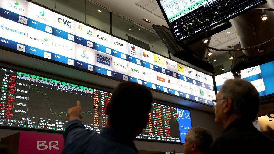 Bolsa de Valores de São Paulo - Amanda Perobelli/Reuters