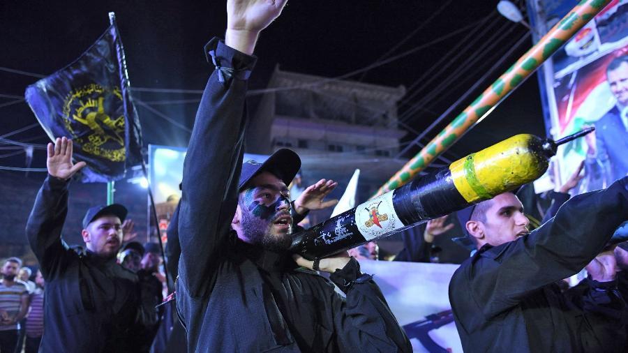 Pelo menos 169 feridos em confrontos entre palestinos e policiais israelenses em Jerusalém - -/AFP
