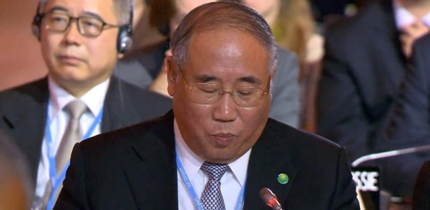 Acordo é resposta equilibrada entre países do mundo a aquecimento global, diz China - Reprodução