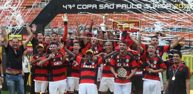 Flamengo é o atual campeão da Copa São Paulo de Futebol Júnior