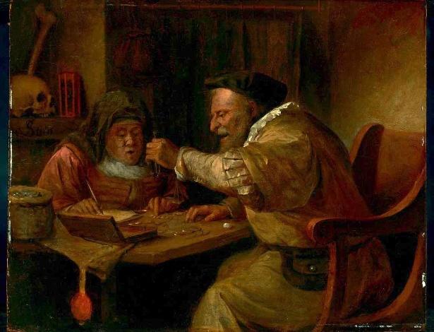 Pintura de Jan Steen, datada dos anos 1660, que foi rejeitada por várias casas de leilão