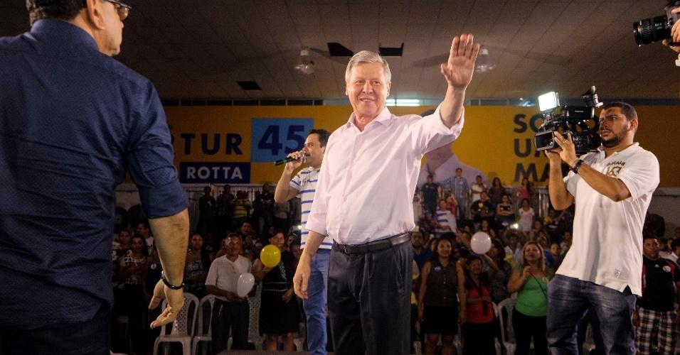 24.set.2016 - Arthur Virgílio Neto (PSDB), 70, concorre à reeleição em Manaus