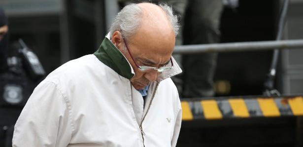 Márcio de Almeida Ferreira, ex-gerente da Petrobrás, preso durante a Operação Asfixia