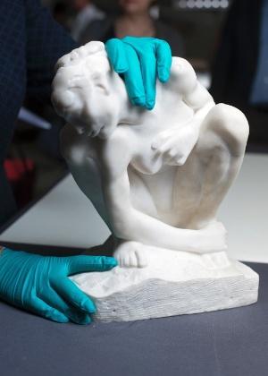 Obra de Rodin, de aproximadamente 1882