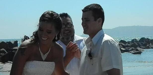 Natasha Daugherty inovou no momento de contar ao marido que estava grávida