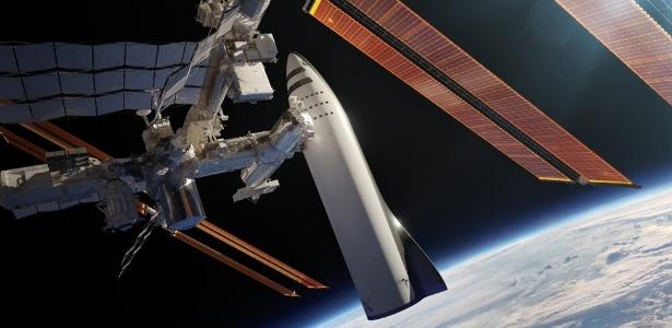 Elon Musk anunciou que todos os esforços de sua empresa estão voltados para desenvolver o foguete BRF - Divulgação