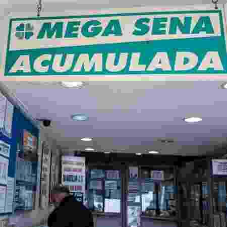 Mega-Sena está acumulada em um valor estimado de R$ 120 milhões - Reinaldo Canato/UOL