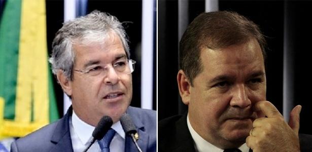 O ex-governador Jorge Viana (à esq.) e o atual governador, Tião Viana