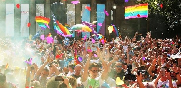 O casamento de pessoas do mesmo sexo foi autorizado na Austrália no ano passado