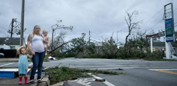 Furacão Michael atingiu a Flórida com ventos de até 250km/h