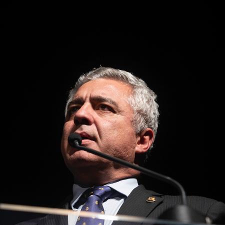 O senador Major Olimpio (PSL-SP) morreu em decorrência da covid-19  - Bruno Rocha/Foto Arena/Estadão Conteúdo