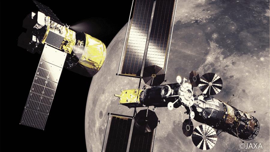 Japão anuncia que vai participar, ao lado dos Estados Unidos, do programa lunar Artemis  - Reprodução/Twitter