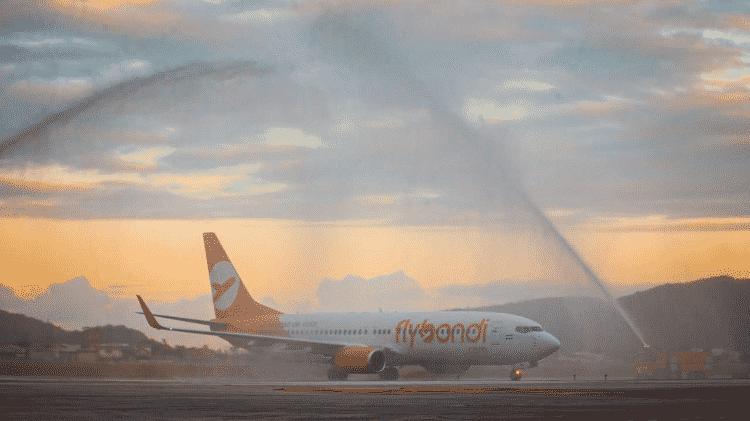 Flybondi Floripa - Divulgação/Floripa Airport - Divulgação/Floripa Airport
