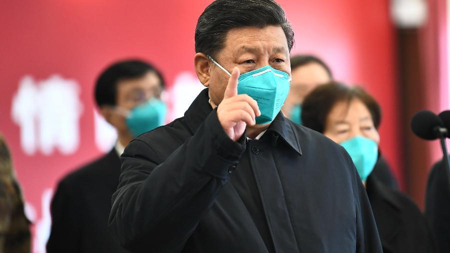 Presidente chinês Xi Jinping e seu país são vistos com cada vez mais desconfiança pelos americanos - Xinhua/Xie Huanchi