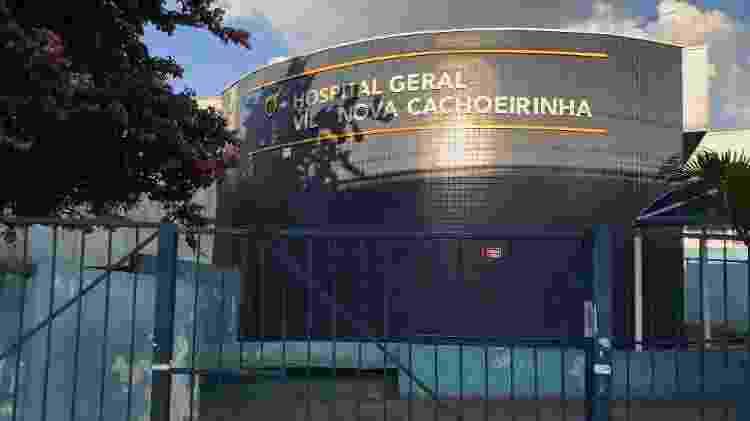 Hospital Geral Vila Nova Cachoeirinha internou 16 pessoas num dia com suspeita de covid-19 - Felipe Pereira - Felipe Pereira