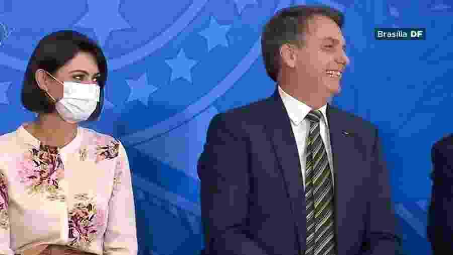 Primeira-dama recebeu R$ 72 mil de Fabrício Queiroz entre 2011 e 2018, segundo relatório do Coaf obtido pela revista Crusoé - TV Brasil/Reprodução
