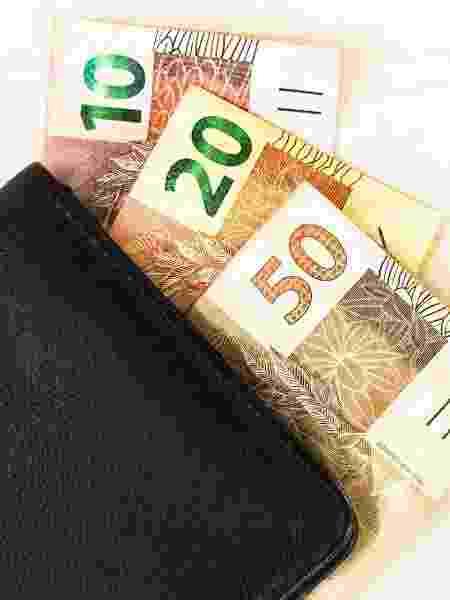 15.set.2019 - dinheiro, real, carteira, economia, pib, dívida - SOPA Images / LightRocket via Getty Images