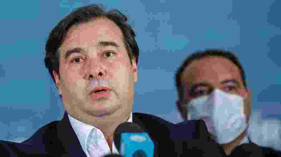 Rodrigo Maia disse que o governo não quer se comprometer com uma meta no orçamento - ADRIANO MACHADO