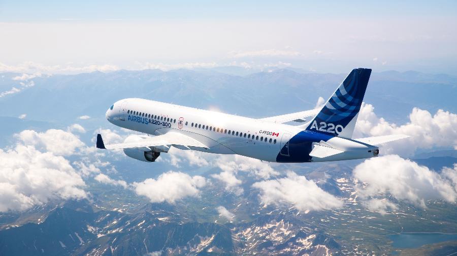 Entre julho e setembro, a Airbus faturou 11,2 bilhões de euros, uma queda de 27% em relação ao mesmo período de 2019 - Divulgação