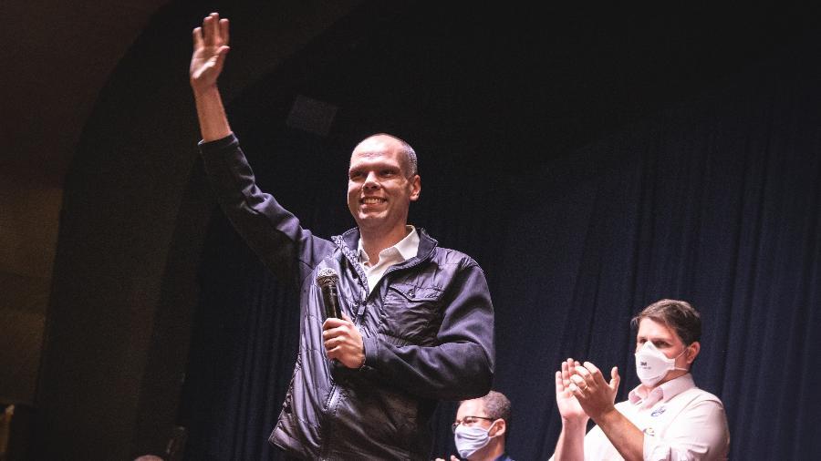 Bruno Covas (PSDB) foi o candidato com maior crescimento em relação ao último levantamento do Ibope - YURI MURAKAMI/FOTOARENA/ESTADÃO CONTEÚDO