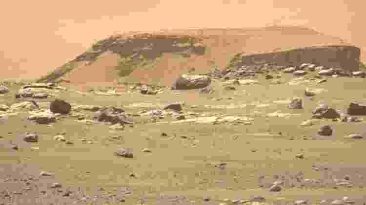 Perseverance em Marte - Nasa/JPL-Caltech/ASU - Nasa/JPL-Caltech/ASU