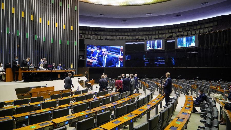 Votação registrou 300 votos a favor e 122 contra - Pablo Valadares/Câmara dos Deputados
