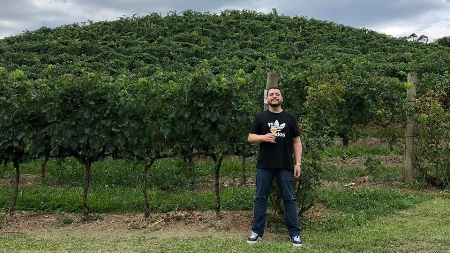 Alexandre Macedo, sommelier da Total Vinhos e embaixador da distribuidora Wine - Acervo Pessoal