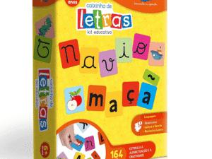 caixinha de letras - Divulgação - Divulgação
