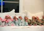 Nove bebês de parto recorde mundial estão bem e logo sairão do hospital