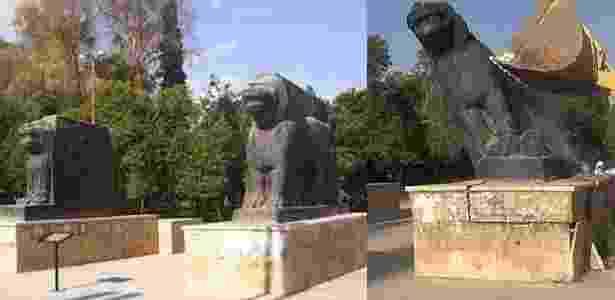 Leões - Reprodução/Unesco - Reprodução/Unesco