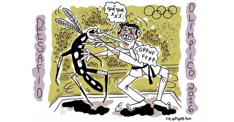 29.fev.2016 - Olha quem é o primeiro adversário dos atletas na Rio 2016
