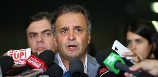 Aécio (foto) recebeu propina de Furnas, disse Delcídio em sua delação - Dida Sampaio/Estadão Conteúdo