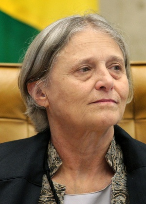 A procuradora Ela Wiecko durante sessão no STF