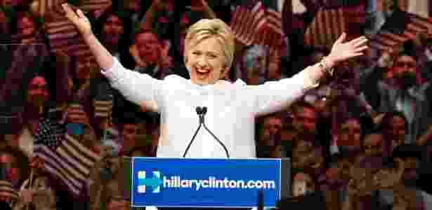 Embora não seja unanimidade, Hillary deve contar com apoio massivo na convenção democrata  - Lucas Jackson/Reuters
