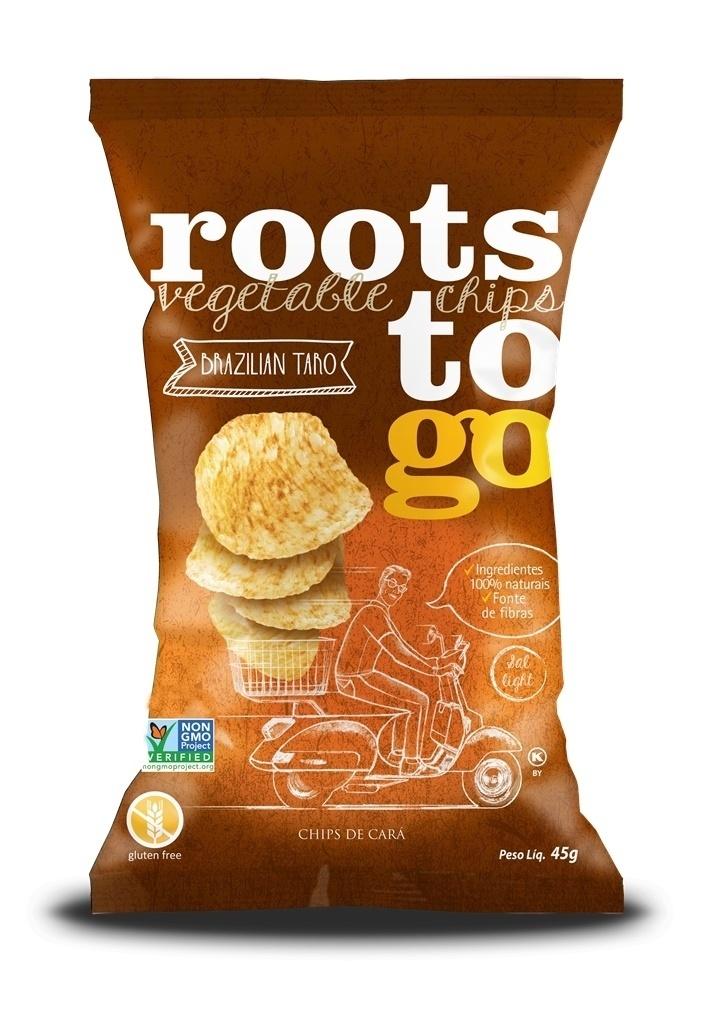 Roots to go, empresa de salgadinhos saudáveis