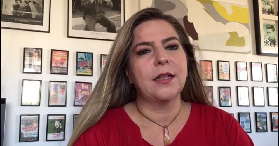 1º.out.2016 - A candidata à prefeitura de Fortaleza Luizianne Lins (PT) divulgou um vídeo nas redes sociais nesse sábado, véspera do 1º turno das eleições municipais