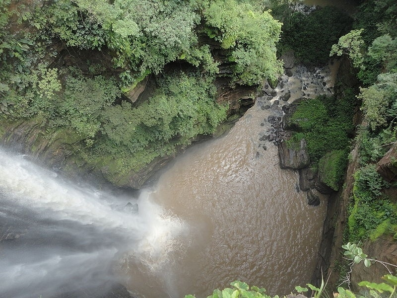 Cachoeira no Parque Nacional da Chapada das Mesas, no Maranhão