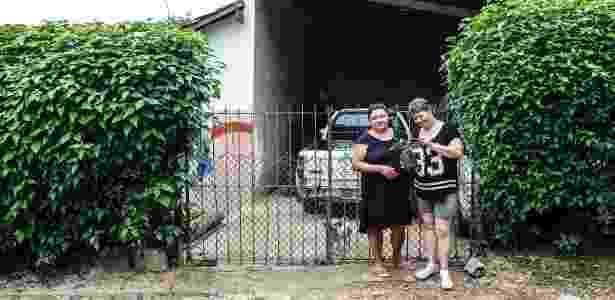 Valéria e Vânia, moradoras da Ilha do Bororé - Lucas Lima/UOL - Lucas Lima/UOL