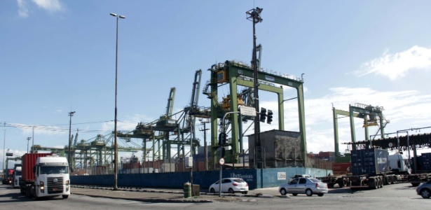 Porto de Santos era o principal ponto de saída da droga para a África e Europa - Marcos Silva/Futura Press/Estadão Conteúdo
