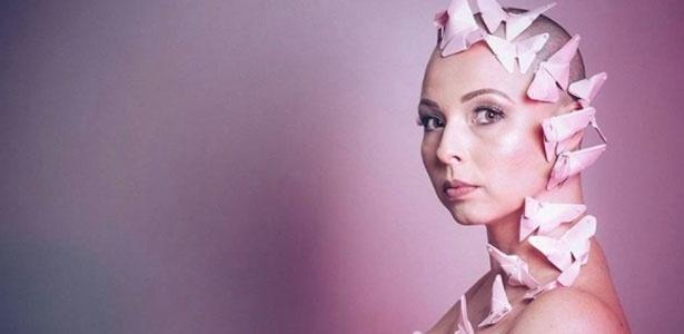 Em outubro do ano passado, Camila Porto posou para campanha de prevenção ao câncer de mama
