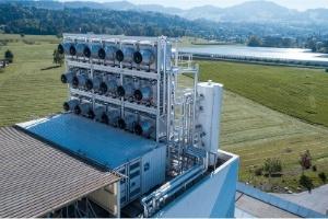 A inovadora máquina que absorve CO2 da atmosfera e o transforma em um gás com valor econômico (Foto: Climeworks)